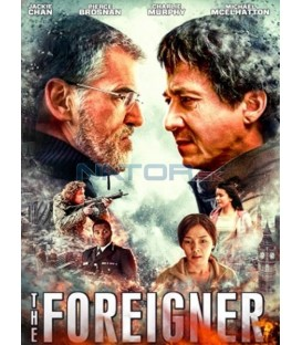 The Foreigner 2017 Jackie Chan DVD