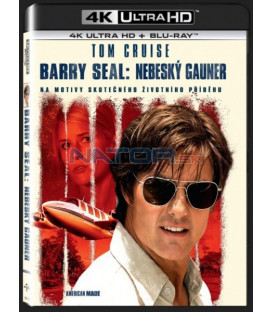 BARRY SEAL: Nebeský gauner UHD+BD - 2 x Blu-ray