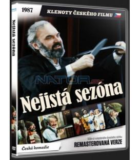 Nejistá sezóna (Remasterovaná verze) - DVD