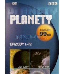 4 DVD - Planety - epizody I.-IV(The Planets)