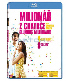 Milionář z chatrče Blu-ray (Slumdog Millionaire)
