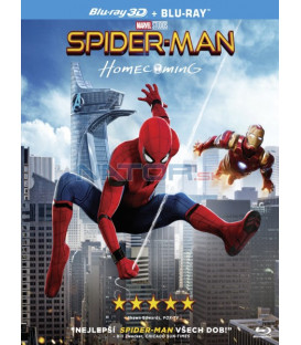 SPIDER-MAN: HOMECOMING Blu-ray 3D + 2D