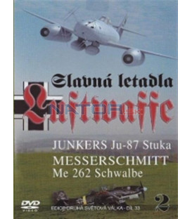Slavná letadla Luftwaffe - 2. díl (Famous Planes Ju-87 Stuka / Famous Planes Me-262 Swallow) DVD