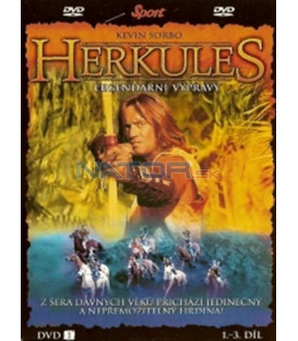 Herkules - Legendární výpravy - DVD 1 (1. - 3. díl) (Hercules: The Legendary Journeys)