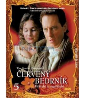 Červený bedrník - 5. díl (The Scarlet Pimpernel) DVD
