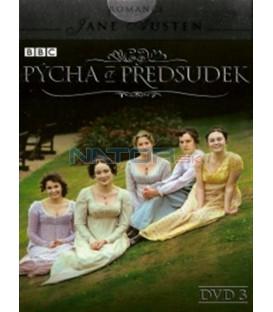 Pýcha a předsudek - DVD 3 (Pride and Prejudice) DVD