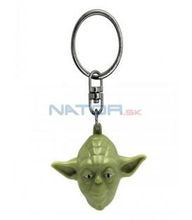 Klíčenka Star Wars - Yoda 3D