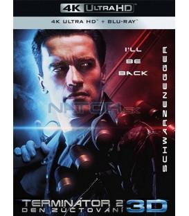 Terminátor 2: Den zúčtování 1991 (Terminator 2: Judgment Day) (4K Ultra HD) - UHD+BD - 2 x Blu-ray Remasterovaná verze