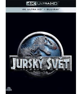 Jurský svět 2015 (Jurassic World) (4K Ultra HD) - UHD+BD - 2 x Blu-ray
