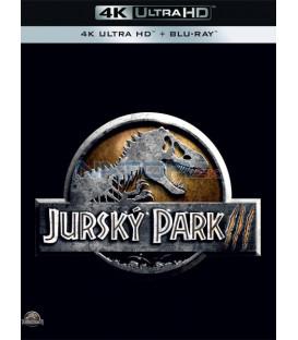 Jurský park 3 - 2001 (Jurassic park III) (4K Ultra HD) - UHD+BD - 2 x Blu-ray