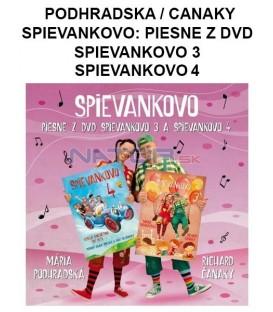 CD PODHRADSKÁ / ČANAKY - SPIEVANKOVO: PIESNE Z DVD SPIEVANKOVO 3 A SPIEVANKOVO 4