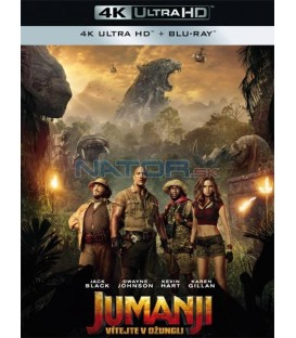 JUMANJI: VÍTEJTE V DŽUNGLI! 2017 (Jumanji: Welcome to the Jungle) (4K Ultra HD) - UHD+BD - 2 x Blu-ray