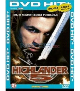 Highlander 5 (Highlander: The Source) DVD