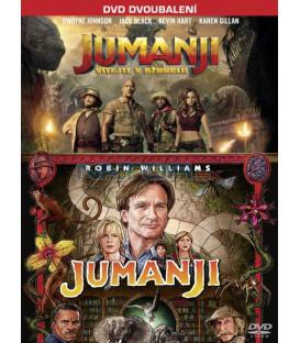 Jumanji kolekce (Jumanji 1995, Jumanji: Vítejte v džungli) 2xDVD