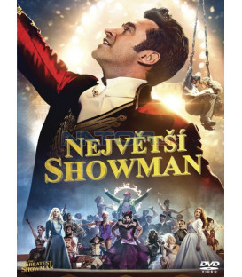 NEJVĚTŠÍ SHOWMAN 2017 (The Greatest Showman) DVD