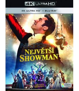NEJVĚTŠÍ SHOWMAN 2017 (The Greatest Showman) (4K Ultra HD) - UHD+BD - 2 x Blu-ray