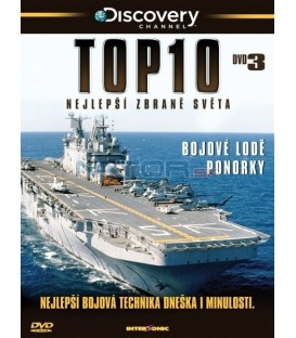 TOP 10 - Nejlepší zbraně světa - DVD 3 (Top Tens)