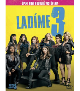 Ladíme 3 2017 (Pitch Perfect 3) DVD (SK obal)