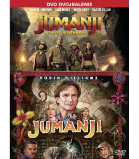 Jumanji kolekce (Jumanji 1995, Jumanji: Vítejte v džungli) 2xDVD (SK obal)