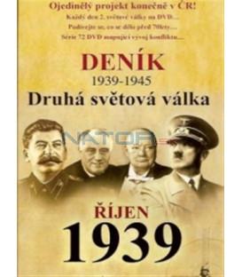 Deník - Druhá světová válka (2. díl) - říjen 1939 (Second World War Diary (1939-1945) DVD