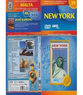 Nejkrásnější místa světa 39 - New York DVD