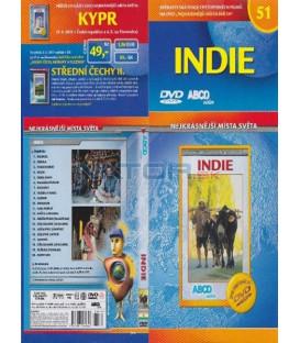Nejkrásnější místa světa 51- Indie DVD