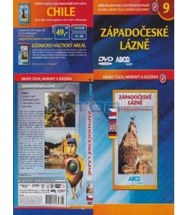 Krásy Čech, Moravy a Slezska 9- Západočeské lázně DVD