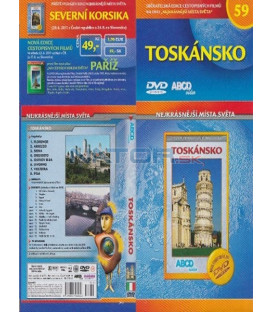 Nejkrásnější místa světa 59- Toskánsko DVD