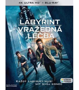 Labyrint: Vražedná léčba 2018 (Maze Runner: The Death Cure) (4K Ultra HD) - UHD+BD - 2 x Blu-ray