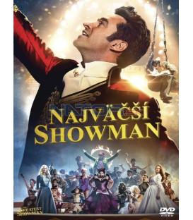 Najväčší showman 2017 (The Greatest Showman) DVD  (SK obal)