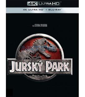Jurský park 1993 (Jurassic Park) (4K Ultra HD) - UHD+BD - 2 x Blu-ray (SK obal)