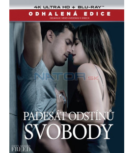 Padesát odstínů svobody 2018 (Fifty Shades Freed) (4K Ultra HD) - UHD+BD - 2 x Blu-ray