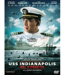 USS Indianapolis: Boj o prežitie 2016 (USS Indianapolis: Men of Courage) DVD  (SK obal)
