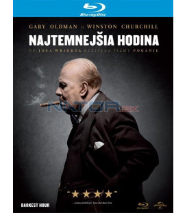 Najtemnejšia hodina 2017 (Darkest Hour) Blu-ray (SK obal)