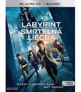 Labyrint: Smrteľná liečba 2018 (Maze Runner: The Death Cure) (4K Ultra HD) - UHD+BD - 2 x Blu-ray (SK obal)