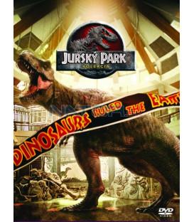 Jurský park - Kolekce 1-4 (25. výročí)  DVD (SK obal)