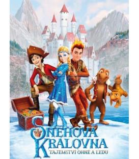 Snehová kráľovná 3: Tajomstvo ohňa a ľadu 2016 (Sněžnaja koroleva 3: Ogoň i Ljod) DVD (SK obal)