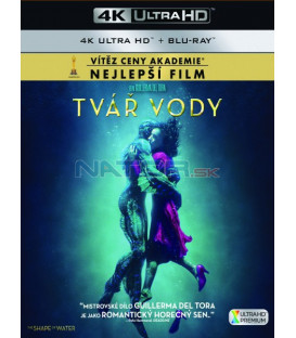 Tvář vody 2017 (The Shape of Water) (4K Ultra HD) - UHD+BD - 2 x Blu-ray