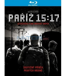 Paříž 15:17 - 2018 (The 15:17 to Paris) Blu-ray