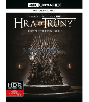 Hra o trůny 1. série (Game of Thrones Season 1) 4xBlu-ray (4K ULTRA HD) - UHD Blu-ray