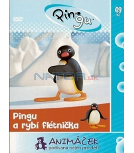 Pingu 4 - a rybí flétnička (Pingu) DVD