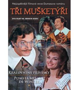 Tři mušketýři 1+2 DVD