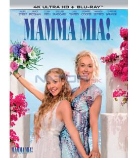Mamma Mia! (4K Ultra HD) - UHD+BD - 2 x Blu-ray (SK obal)