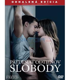 Päťdesiat odtieňov slobody 2018 (Fifty Shades Freed) DVD (SK obal)