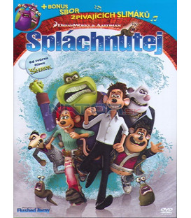 Spláchnutej (Flushed Away) DVD