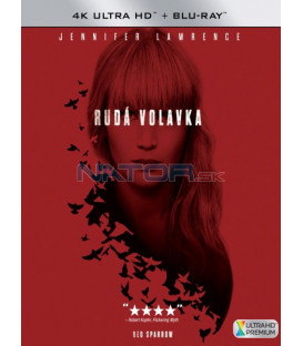 Rudá volavka 2018 (Red Sparrow) (4K Ultra HD) - UHD+BD - 2 x Blu-ray