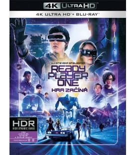 Ready Player One: Hra začíná 2018 (Ready Player One) (4K Ultra HD) - UHD+BD - 2 x Blu-ray
