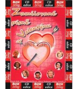 Zamilované písně k Valentýnu CD
