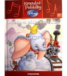 Dumbova záchranná mise kniha + CD- Kouzelné pohádky Disney 39