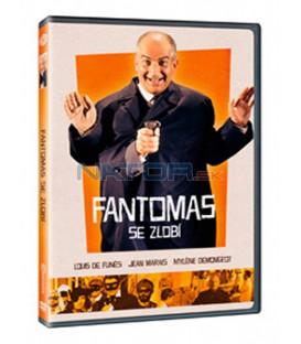 Fantomas se zlobí 1965  (Fantômas se déchaîne) DVD